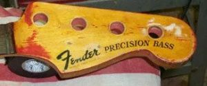 Image: P-Bass Guitar Repair: Bass Restoration in the Haywire Custom Guitars Shop