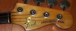 Image Guitar Repair: Bass Restoration in the Haywire Custom Guitars Shop (photo after restore)