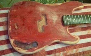 Image P-Bass Guitar Repair: Bass Restoration in the Haywire Custom Guitars Shop