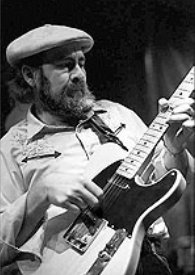 image Haywire Custom Guitars Friend: Roy Buchanan playing a Haywire Custom Guitar