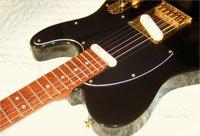 image Haywire Custom Guitars Black Rose Single Cutaway guitar