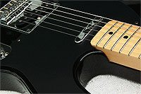 Photo: At Haywire Custom Guitars High Guitar Action Can Be fixed