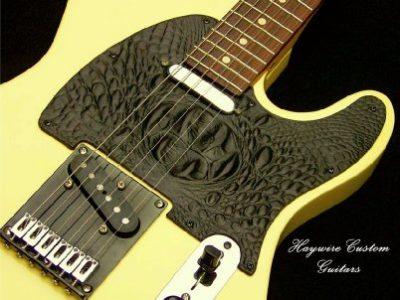 image Haywire Custom Guitars Vintage Gator Guitar