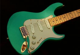 image Haywire Custom Guitars Surf Green Guitar