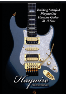 Haywire Custom Guitars-Violator with noiseless pickups