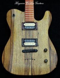 image Haywire Custom Shop Korina guitar body