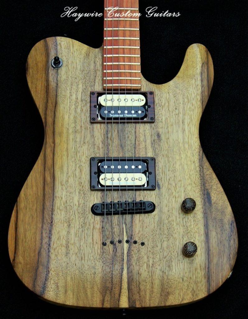 image Haywire Custom Shop Korina guitar body