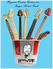 Haywire Custom Guitars-Play Painlessly with a new ergonomic guitar neck