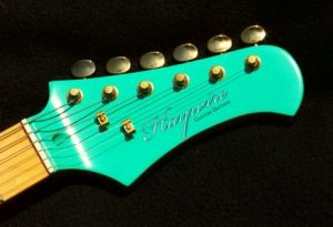 Haywire Custom Guitar Shop Head stock