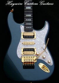 image Custom guitar by Haywire Custom Guitars