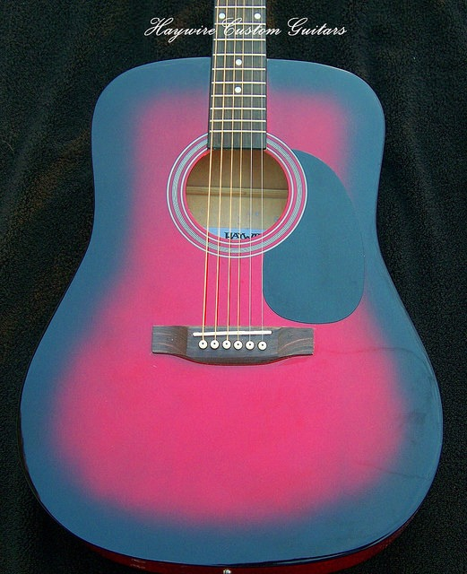image Haywire Custom Shop Acoustic Burgundy-Body Acoustic guitary