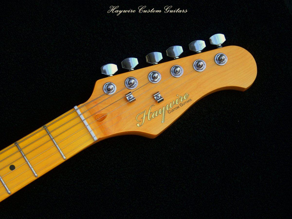 Light Amber Haywire Guitar Neck