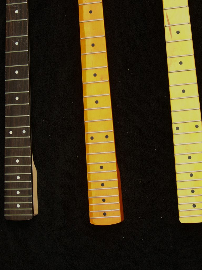 There are many neck choices. Haywire custom guitars neck replacement is fast.