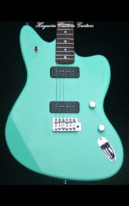 "Accurate guitar intonation is critical to pitch quality. Pitch quality is essential to ""in tune"" playing.buy6-Jazz Surf Green-$525"