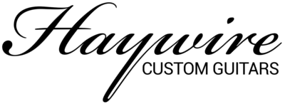 Haywire Custom Guitars-Highly Recommended!✅ Logo