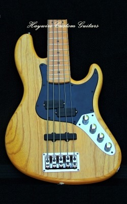 Haywire Custom Guitars 5 String Bass Guitar
