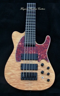 image Haywire Custom Guitars Custom T Style Bass w/active pickups
