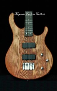 LoGrande Bass by Haywire Custom Guitars low guitar moisture levels