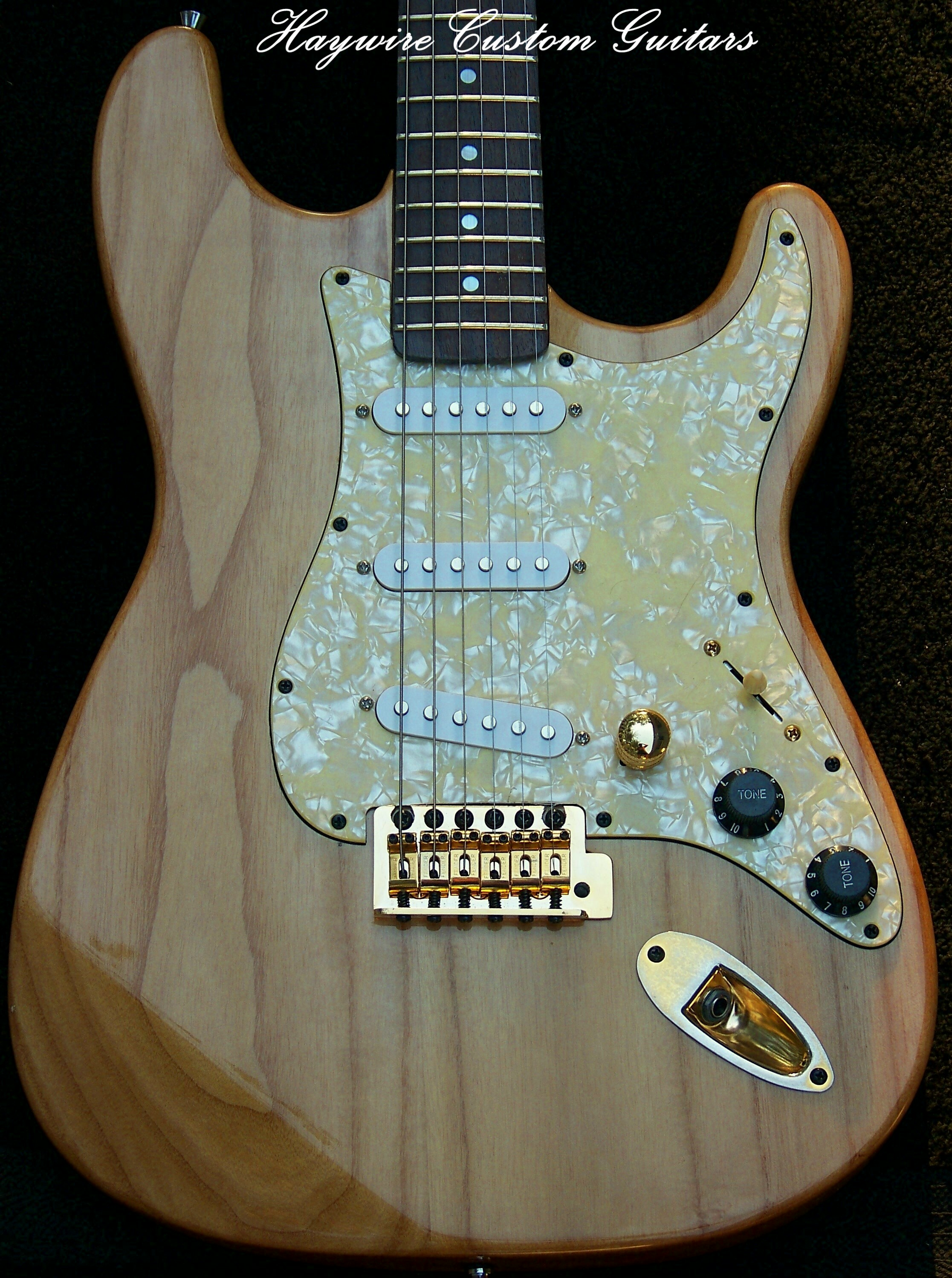 Swamp Ash Natural Body Guitars FromSwamp Ash Natural Body Guitars From The Haywire Custom Shop