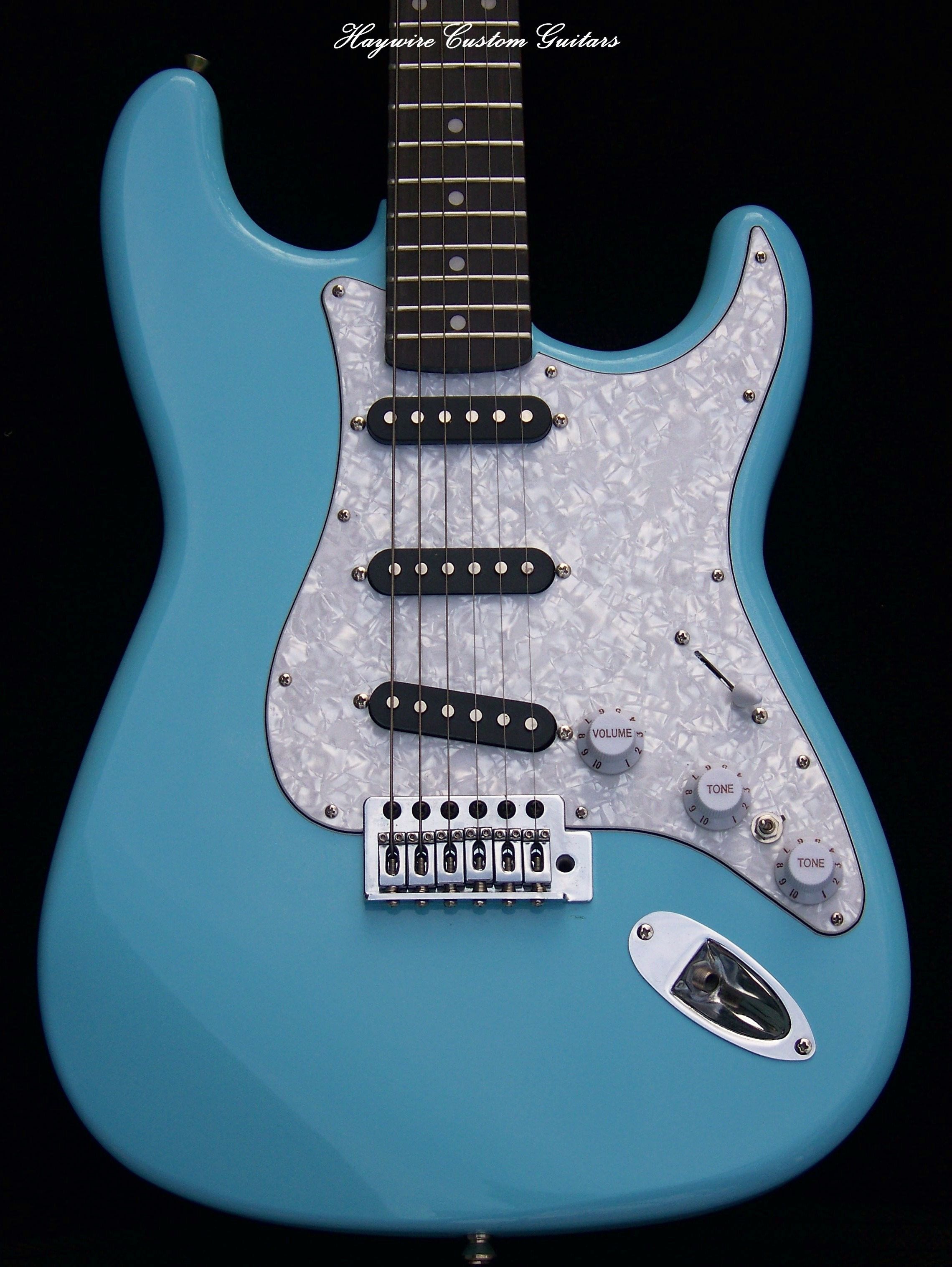 image Haywire Custom Guitars-Sky Blue Strat11
