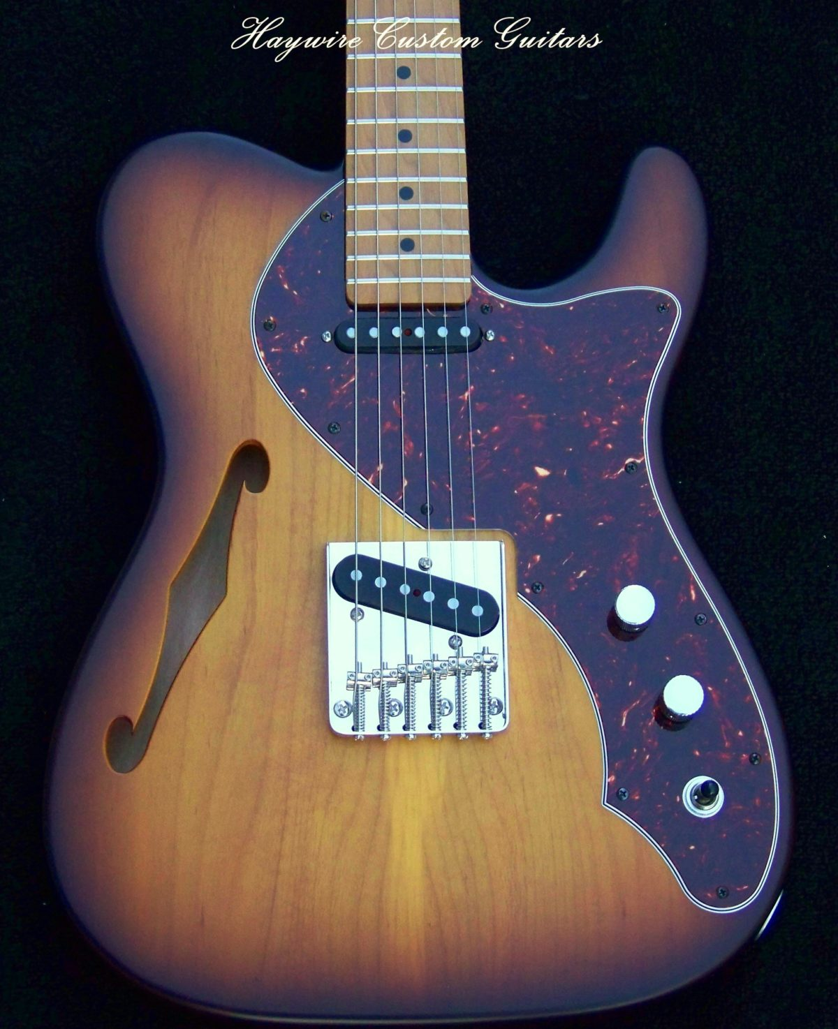 Haywire Custom Guitars Thinline tele