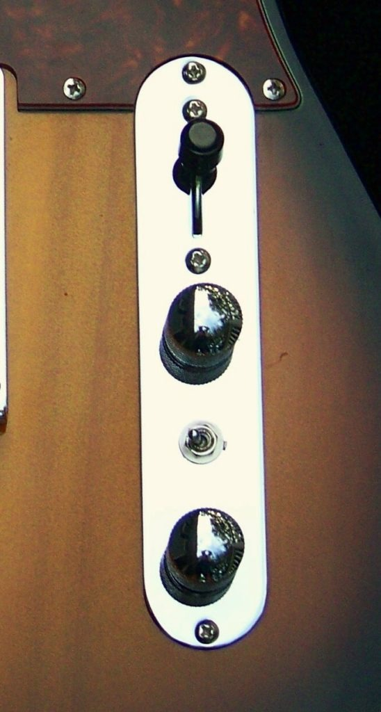 image for Haywire Custom guitars of a seven sound switch modification in a Nashville Telecaster
