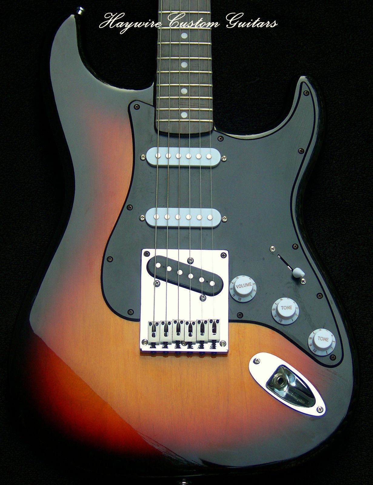 image Active Haywire Custom Shop Nashville Player guitar has a set of EMG SA's