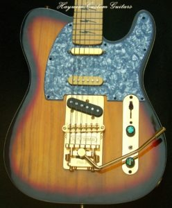 image Haywire Custom Guitars Single cutaway custom Stetsbar Nashville 7 Sound switch guitar