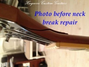 repair a broken guitar neck