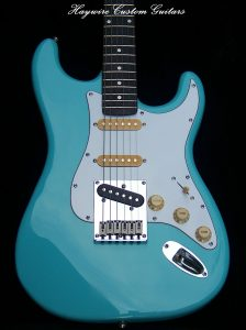 image Classic Modified Vintage Haywire Custom Guitars Nashville Player #1 Guitar Bluehttps://haywirecustomguitars.com/nashville-players/
