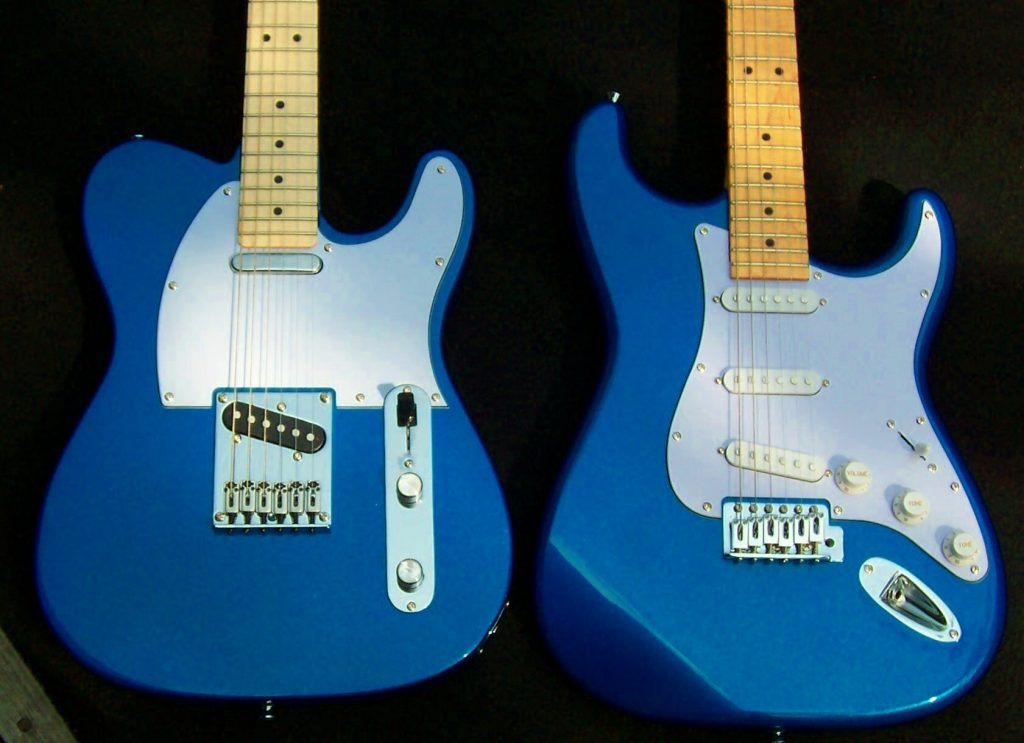 Image of related guitar designs for a custom guitar shadow build