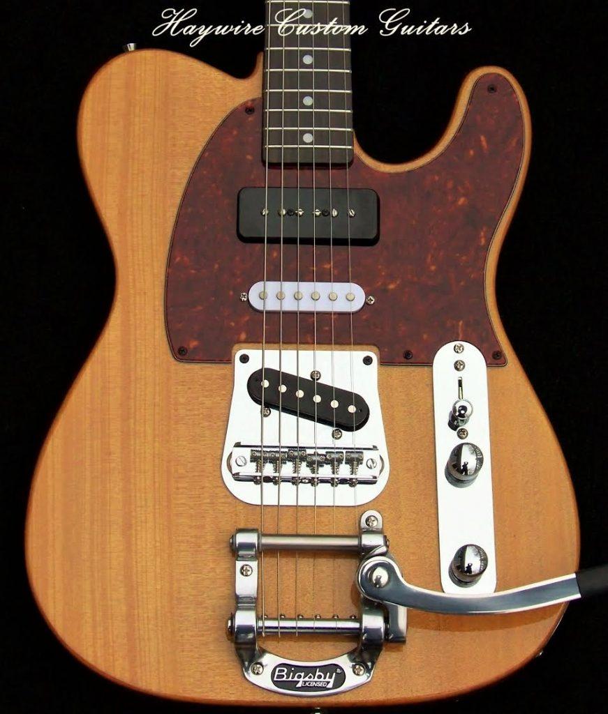 image Haywire Custom Guitars Nashville P-90 Tremolo Custom Guitar https://haywirecustomguitars.com/tremolo-custom/
