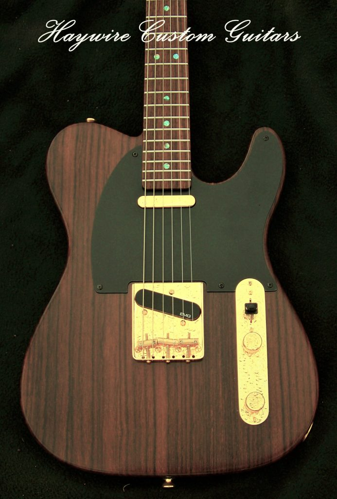 image Haywire Single Cutaway Guitar- Daytona with a Satin Lacquer finish. What Finishing Processes Does Haywire Use?