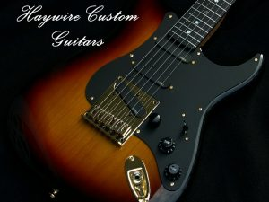 image of active Haywire Custom Guitar with EMG pickups