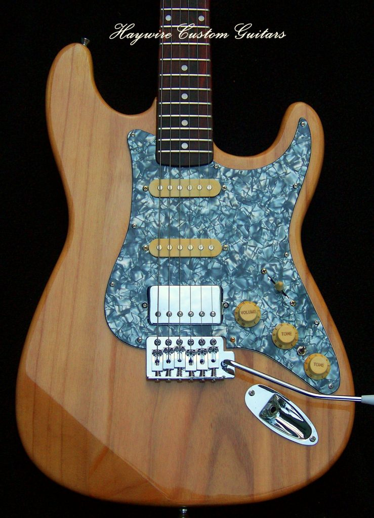 image Haywire Custom Extra Light guitars for disabled players