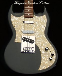 image Custom Guitar SG and Nashville Tele combination by Haywire Custom Guitars