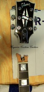 ibson Les Paul broken headstock