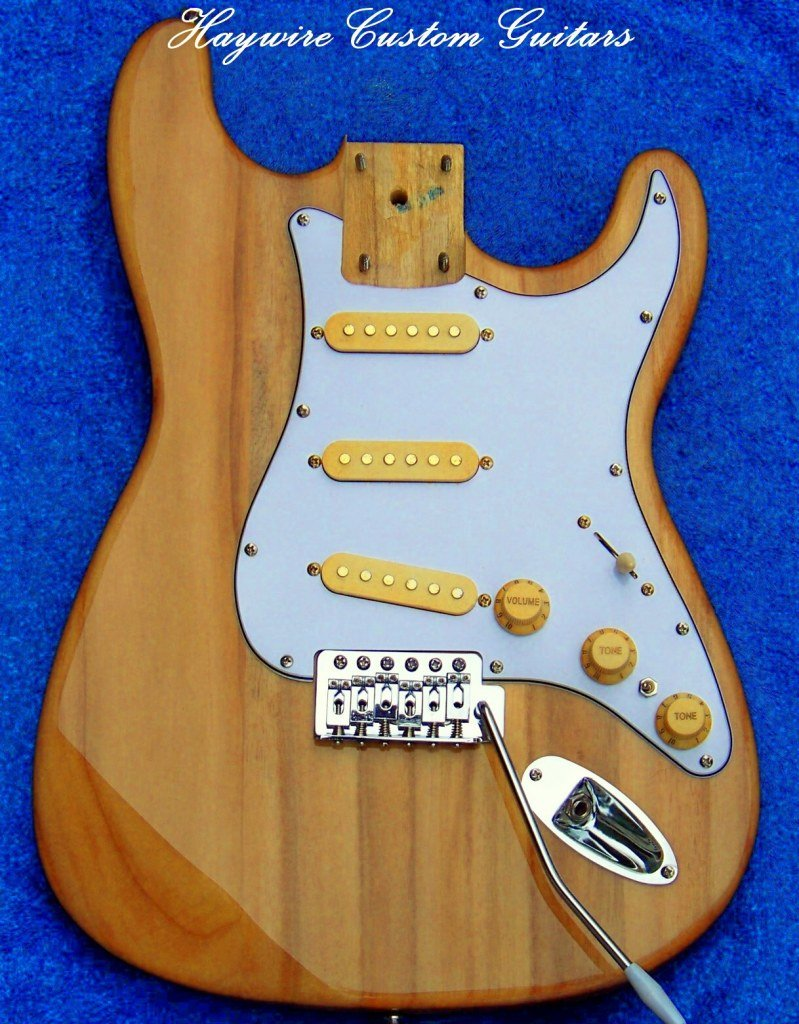 image Haywire Custom Guitars Replacement Bodies