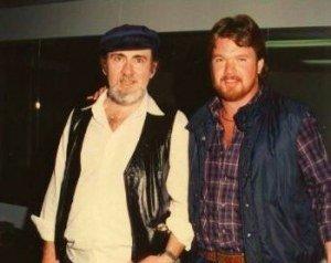 image Roy Buchanan and Rick Mariner from Haywire Custom Guitars