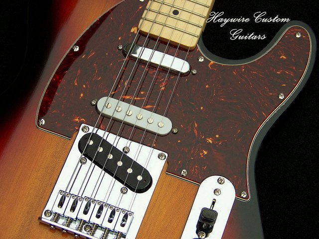 image of Telecaster modified by Haywire Custom Guitars Inc.-USA