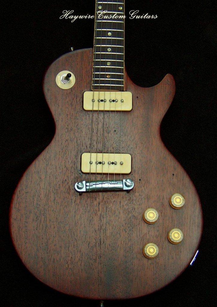 image Haywire Custom Guitars Refurbish of a 1960's Les Paul