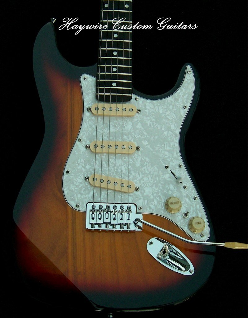 image X-Light+Lollars with Treble Bleed + Working Bridge Pickup Tone Control all in a Gig-Ready Haywire Custom guitar