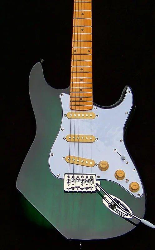 image Greenburst Haywire Custom Guitar