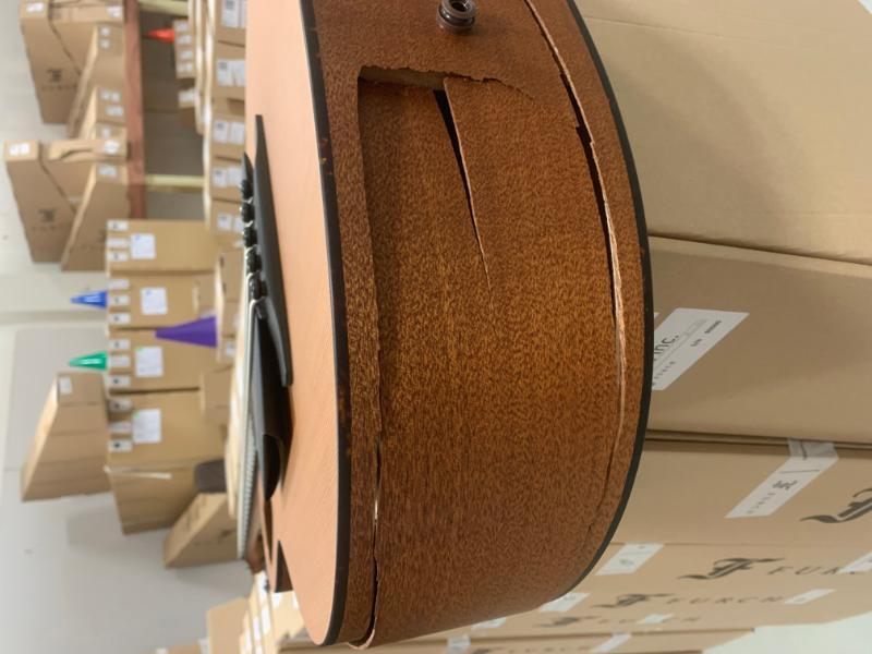 image of Haywire Custom Guitars before repair photo