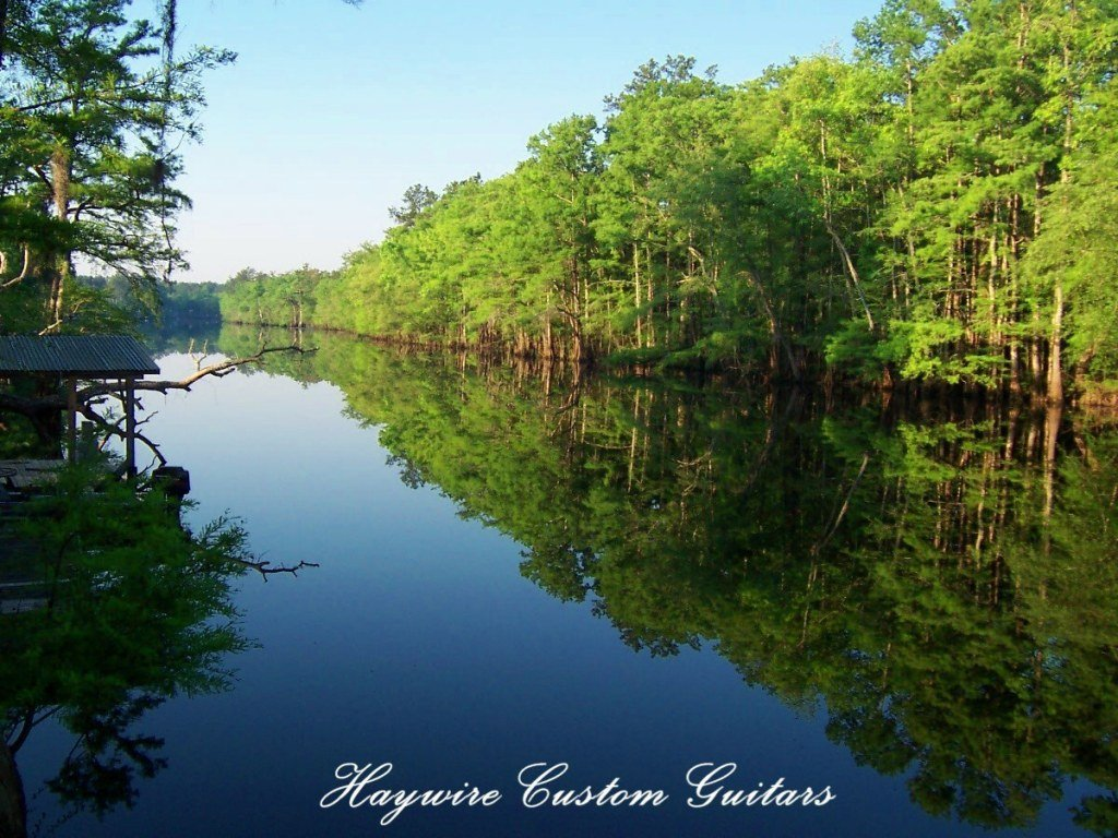 image Waccamaw River photo showing Back-of-the-Haywire Custom Guitars Custom-Shop in South Carolinas