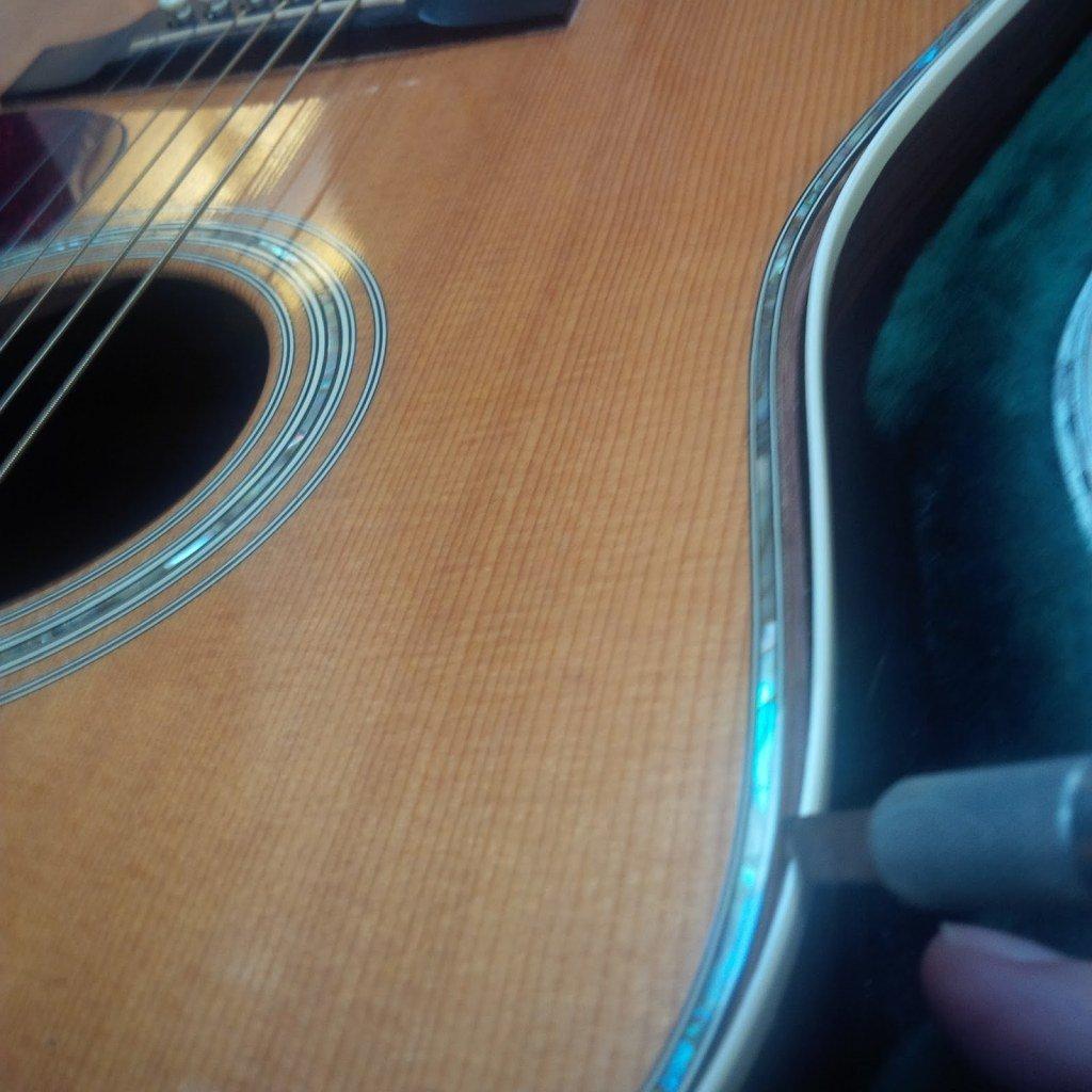 "image Fixing Loose Guitar Binding at  Haywire Custom Shop"""