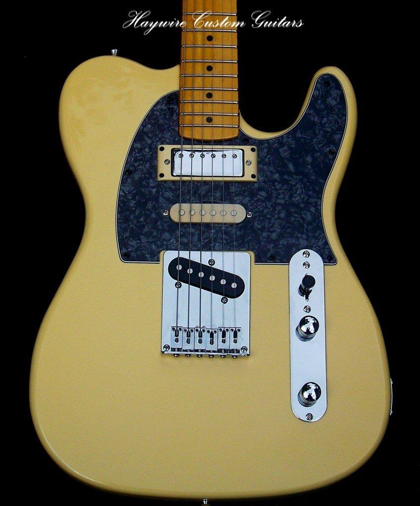 image of Haywire Custom Guitars designed Nashville Telecaster guitar